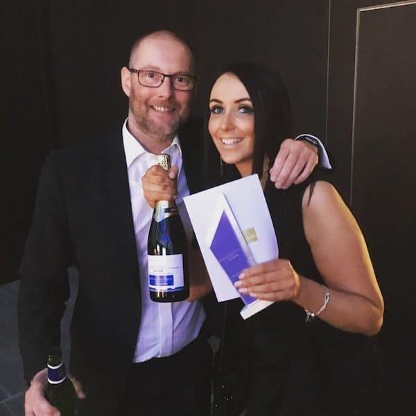 Angie Blakesley and Matt Hardman British Specialist Lending Awards