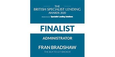 Fran Bradshaw British Specialist Lending Awards 2020