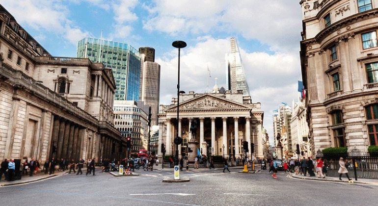 Bank Of England Drop Base Rate London