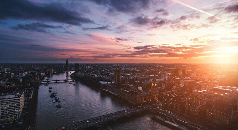 Sunrise Over London Landlords