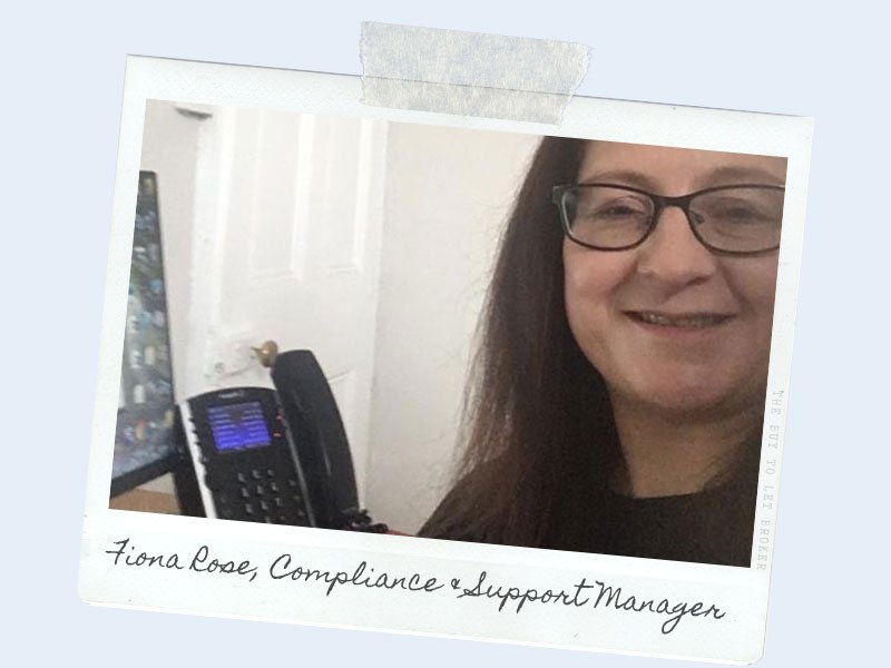 Fiona Rose Compliance and Support Manager