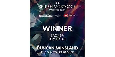 Duncan Winsland best Buy to let Broker 2020